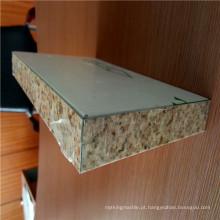 Revestimento de PVDF de cor de pedra Painéis de Revestimento de Parede de Favo de Alumínio