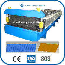 YTSING-YD-000200 Passed CE& ISO 45# Forge Steel Automatic Double Layer Roll Forming Machine, Double Layer Making Machine