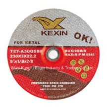 "Disco abrasivo para aço / Metal 9 ""X1 / 8"" X7 / 8 """