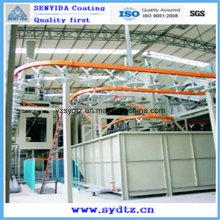 Оборудование для нанесения порошковых покрытий / Линия / Покрасочное оборудование (подвесной конвейер)