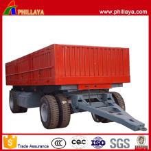 Productos agrícolas Transporte Drawbar Tractor Trailer