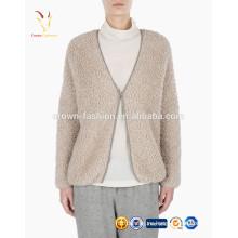 Женское пальто меховое в длинных больше ягнят шерсть кардиган пальто