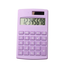 Calculatrice de poche Basic 8 chiffres à double alimentation