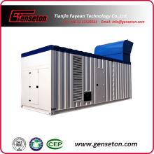 Генератор генераторной установки с низким уровнем шума с низким уровнем шума
