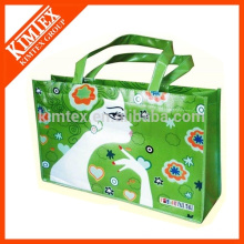 custom nonwoven shopper bags with printing logo