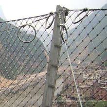 Galvanized slope SNS protective mesh rockfall barriers factory rockfall netting