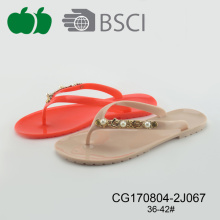 Donne Cheap Flat Pvc Flip Flop Estate 2017