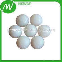 Personalize alta qualidade e bola de borracha branca barata 5mm
