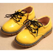 новый малыш кожа PU детская обувь для девочек и мальчиков