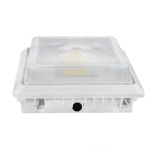 New design 2nd Generation High CRI Wholesale 125LM/W 55W LED Parking Garage light