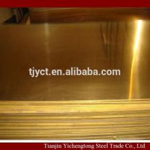 C2680 C2700 placa de latão de latão