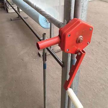 Side Film Manual winch for film greenhouse