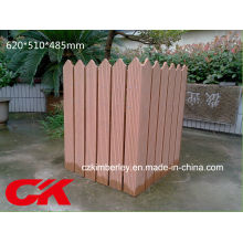 Boîte en bois composée en plastique de haute qualité en bois WPC