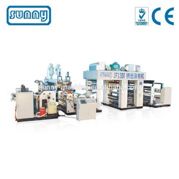 Machine d'enduit extrusion plastique PEBD PP EVA EAA