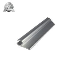Silver anodizing single rail aluminum keder profile