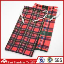 Wuxi 30% Nylon 70% poliéster logotipo impreso microfibra gafas de sol bolsas / bolsa