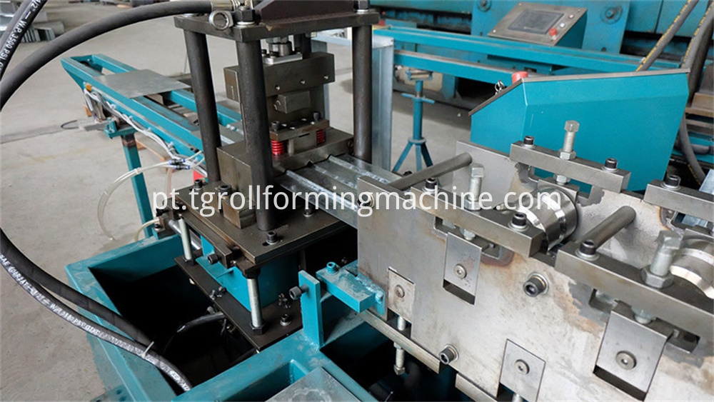 Fire Damper Blade Roll Forming Machine