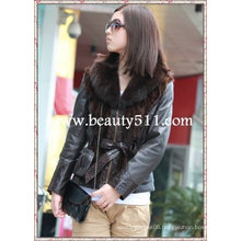 fah004 OEM wholesale fur garment fur clothing rabbit fur mink fur clothing fur jacket