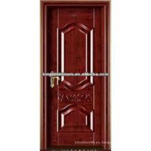 Nuevo estilo de alto rendimiento de acero madera Interior puerta del rey-07 para la mejor venta de China
