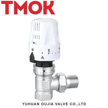 válvula termostática completa del níquel del hilo del latón NPT