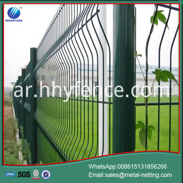 Pvc Coated Welded Wire Fence