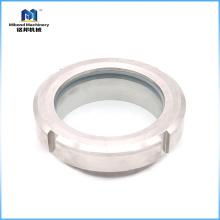 Vidrio sanitario de acero de la unión del tanque de triclamp del acero inoxidable 304 / 316L en venta