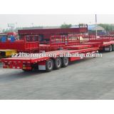 35ton 40feet or 20ft 3axle flatbed semi trailer for sale/container semi trailer
