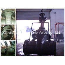 SGS Assigned Flanged Worm Type Gate Valve (Z41Y)