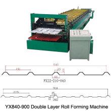 Doppelblatt-Umformmaschine