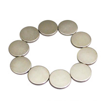 Mobile Used Round Disc Thin Magnet