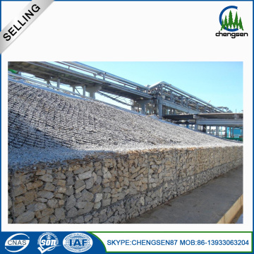 250g Zinc Coating Gabion Stone Box dilas