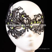 Nouveau masque de masque aux yeux en dentelle superposé pour les yeux Masque de fantaisie