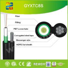 Figure Huit Câbles à fibre optique Opgw (GYFTC8S)