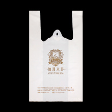 Environmental Plastic T Shirt Tote Bag