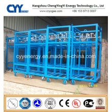 Offshore Oxygen Nitrogen Gas Cylinder Rack with ASME ISO