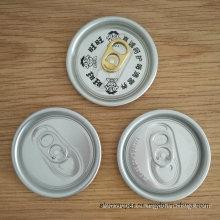 Lata de bebida carbonatada de 500ml con tapas de aluminio de 57mm 206 Sot Eoe