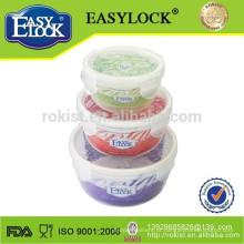 Venda quente BPA Livre promocional tigela de sopa de plástico