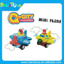Lovely cartoon friction mini toy plane