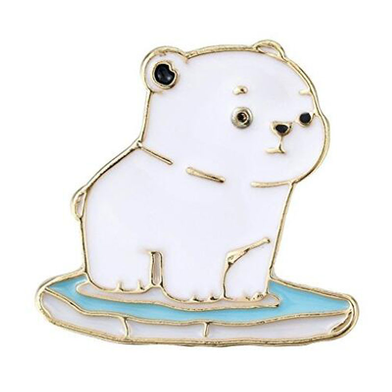 Alloy Enamel Animal Pets Brooch