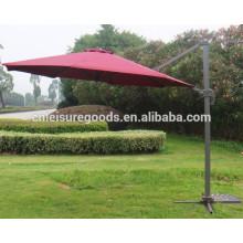 Guarda-chuva de alumínio ao ar livre resistente de Roma