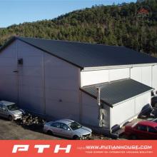 2015 almacén prefabricado de acero ligero de alta calidad con fácil instalación