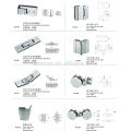 stainless steel glass clamps / glass door hardware / bathroom glass clamp