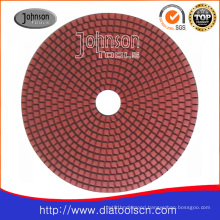 125mm Diamond Wet Pad for Stone