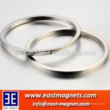 Generador del funcionamiento Anillo sinterizado del anillo de NdFeB de China suplier / remanence alto, producto de la energía