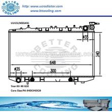 Radiator Aluminium For Nissan G20 93-96 AT OEM:21460-62-J00/21460-62-J01