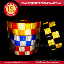 Conspicuity Prismatic Reflective Tape for Trailers