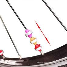 Clip de plástico reflector de seguridad de cuentas de rueda