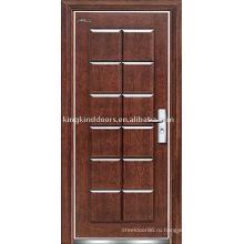 Сталь дерево бронированные двери JKD-208 высокий уровень безопасности от Китая, Топ 10 бренда дверь