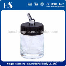 HSENG HS-G2 garrafa de vidro airbrush 22cc