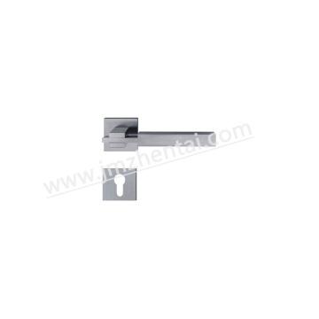 Alavanca de alavanca de porta de fundição sólida de aço inoxidável